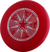 Фрисби Discraft Ultra-Star Dark Red